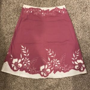 Women's new condition pink skirt
